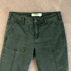 Anthropologie Cropped utility chinos Size 28